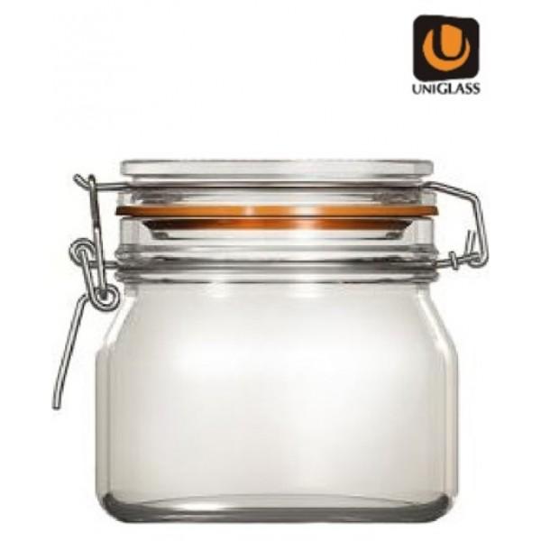 Δοχειο Γυαλινο Econ 500ml Uniglass